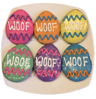 WOOF Easter Eggs (Case of 18 treats)