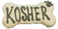 Kosher Bones (Case of 18 treats white & blue)