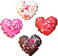 Valentine Mini Hearts (Case of 36 treats)
