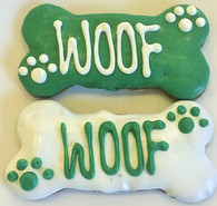 St. Patrick's Medium WOOF Bone (Case of 18 treats)
