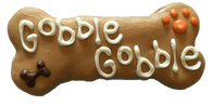 "6"" Inch Gobble Gobble Bone (CASE OF 18 TREATS)"