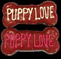 "6"" Puppy Love Bone (Case of 18 treats) NEW!!!"