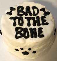 Bad To The Bone Cake (Case of 4 cakes)NEW!!!