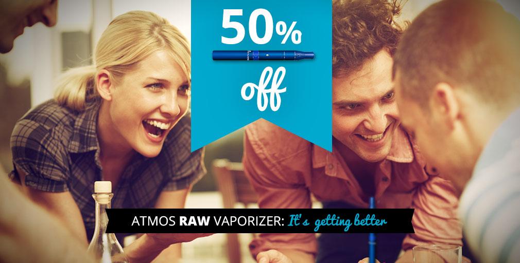 Atmos raw vaporizer
