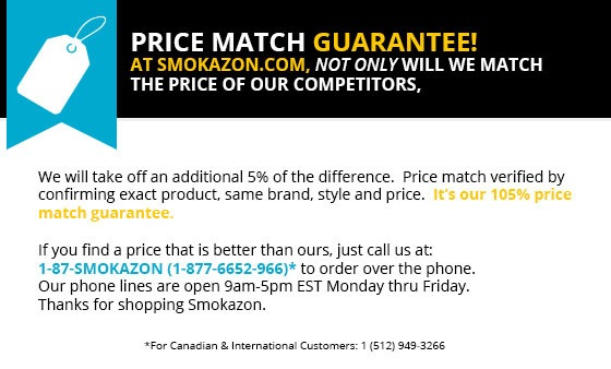 105% Price Match guarantee