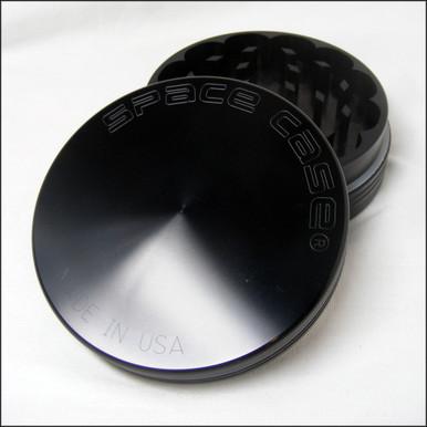 Space Case Grinder - 2 Piece  Large - Titanium - Magnet