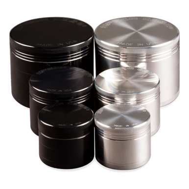 Space  Case 4 Pc Grinder/Sifter  Both Colors