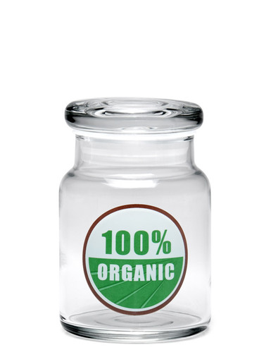 420 Science Small PopTop 100% Organic Jar
