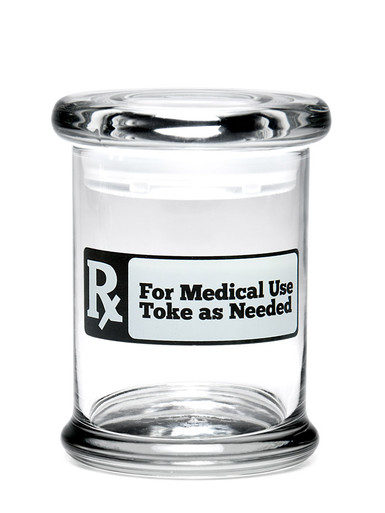 Medium RX: Toke as Needed Pop-Top Jar