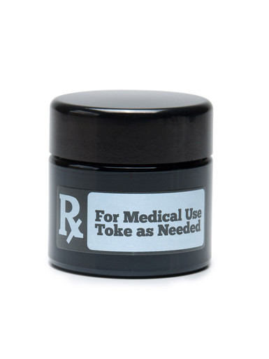 RX Medium UV Screw Top Jar