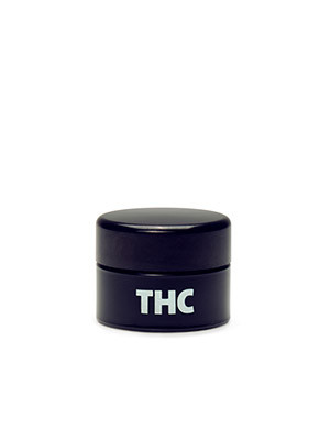 Small THC UV Concentrate Jar