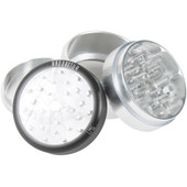 "Kannastor Clear Top 2.5"" 4 pc Grinder/Sifter"