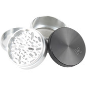 "Kannastor 2.5"" 4 pc Grinder/Sifter Solid Top"