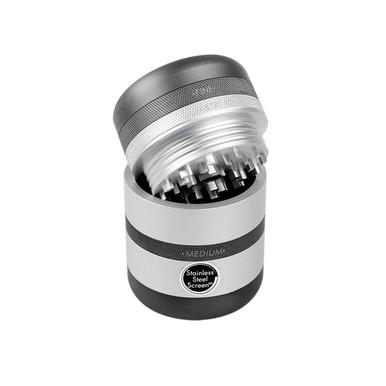 Kannastor GR8TR Grinder V2 - Solid body  - Silver