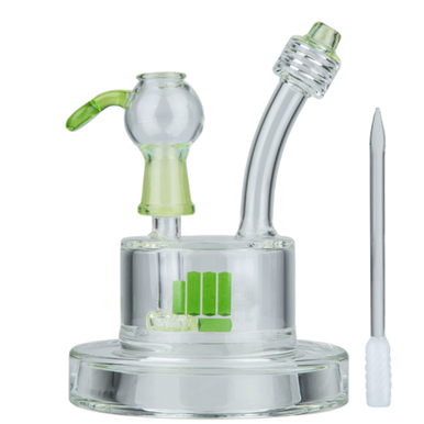 Green Snoop Pound Spaceship Water Pipe