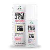 Green Roads Muscle & Joint Heat Relief CBD Roll-On Cream – 500mg