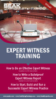 How to Write a Bulletproof Expert Witness Report, December 8–10, 2020 (Live via Zoom)