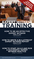 How to Write a Bulletproof Expert Witness Report, June 9–11, 2021 (Live via Zoom)