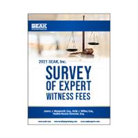 2021 Survey of Expert Witness Fees