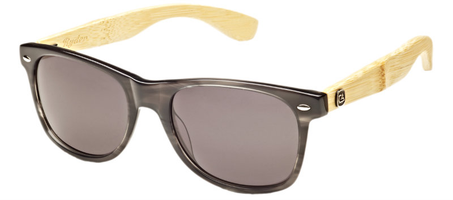 Calisons Stealth Bamboo and Acetate wood frame sunglass