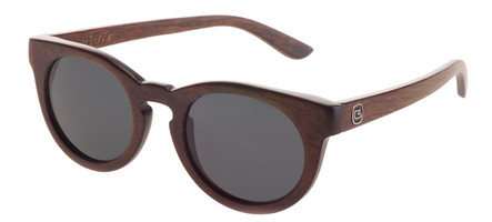 The Felix Birch Wood hand finished wood sunglasses