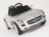 Mercedes-Benz SLS AMG Ride On Car + Remote - Silver
