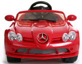 Mercedes-Benz SLR McLaren 722S 12V Ride On Car + Remote - Red