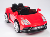 Racer X Red 12V  Ride On Car With Remote & MP3
