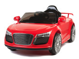 12V Audi R8 Style Ride On Car With Remote & MP3 - Red