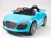 12V Audi R8 Style Ride On Car With Remote & MP3 - Blue