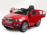 BMW X6 12V Ride On Kids Electric Powered Wheels Car + RC Red