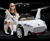 12V Maserati Style Ride On Car With Remote & MP3 White
