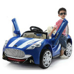12V Maserati Style Ride On Car With Remote & MP3 Blue