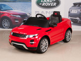 Range Rover Evoque 12V Ride On Car + Remote - Red