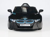 BMW i8 Concept 12V Ride On Kids Battery Powered Wheels Car + RC Black