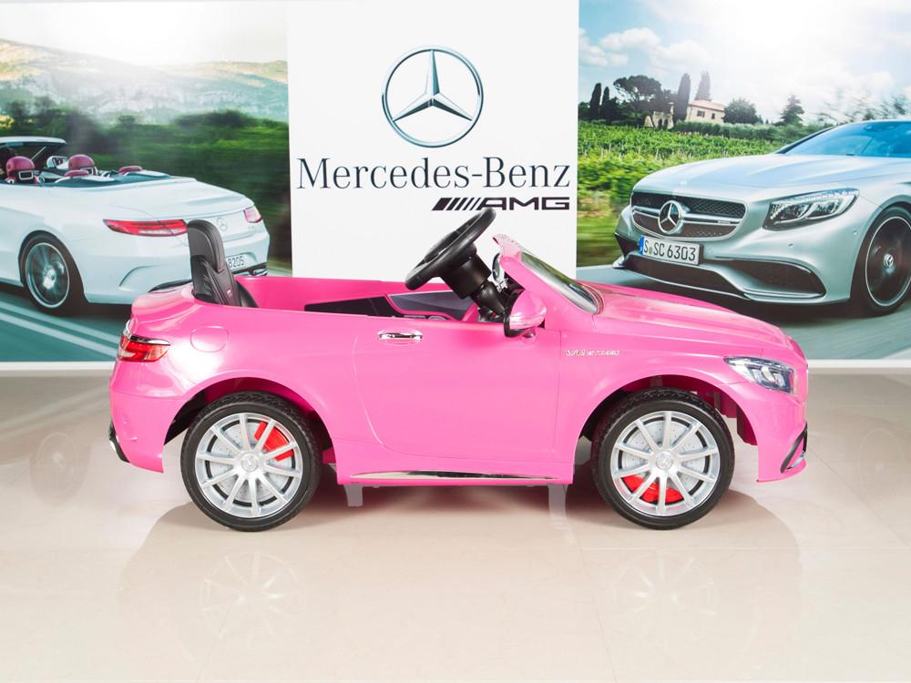 kids 12v electric power wheels rc ride on car mercedes benz s63 radio mp3 pink sunnyskytoys kids 12v electric power wheels rc ride on car mercedes benz s63 radio mp3 pink