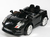 Racer X Black 12V  Ride On Car With Remote & MP3