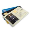 Silk Laminate Business Cards with Spot UV & Round Corners