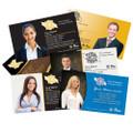 Slim Silk Laminate Business Cards with Spot UV