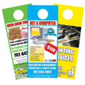 3.5 x 8.5 100 lb Gloss Text Door Hangers