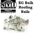 Electro Galvanized Roofing Nails - 50lb bulk box