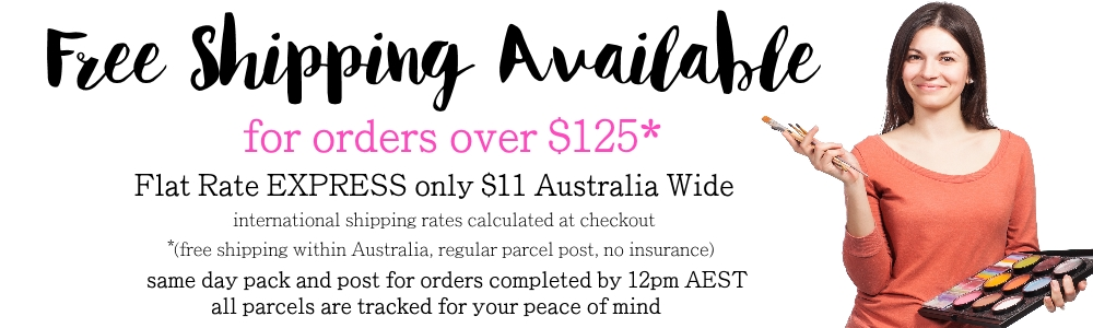 free shipping face paints online Australia