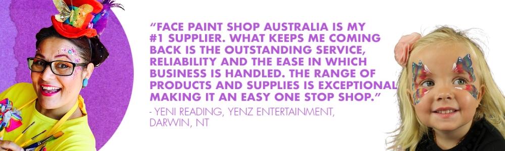 face paint shop australia review