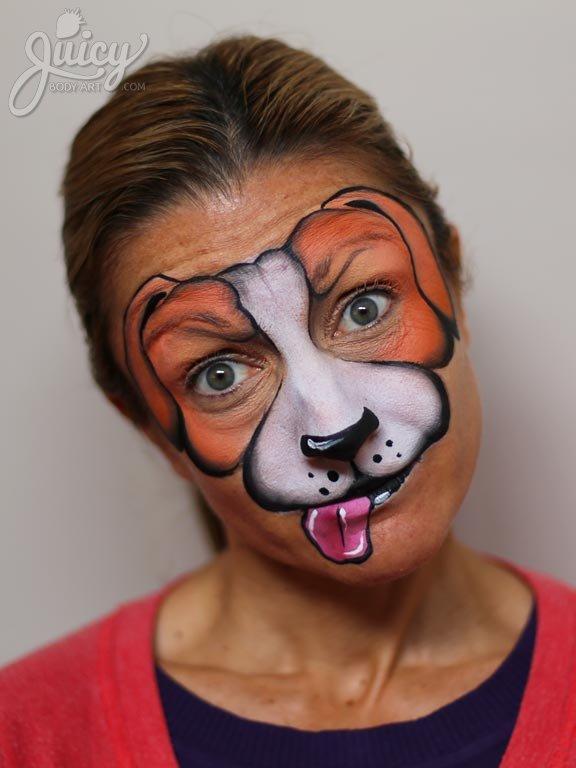 5 ways to face paint a puppy dog - Face Paint Shop Australia