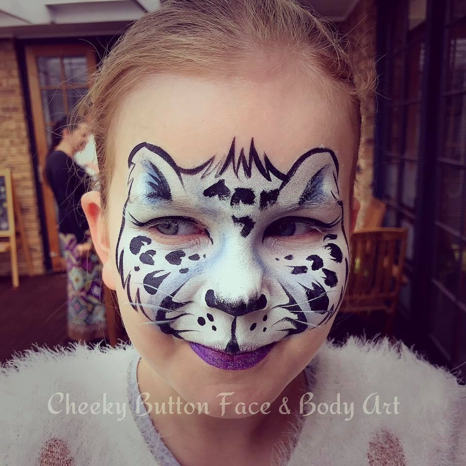 Cheeky Button Face and Body Art