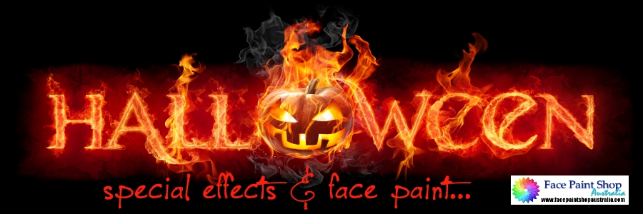Halloween face paint and special effects