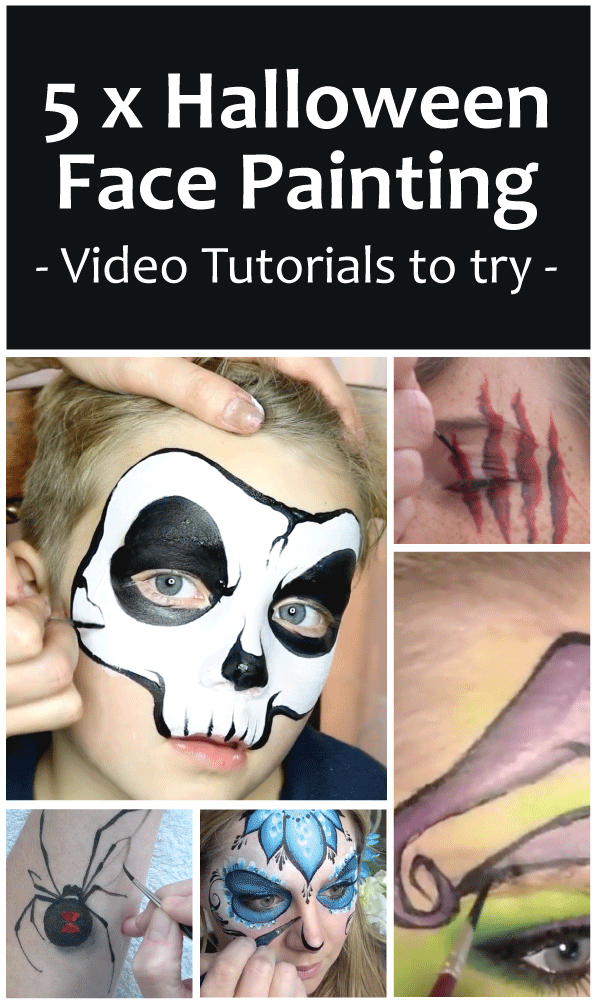 5 Halloween Face Paint ideas to try