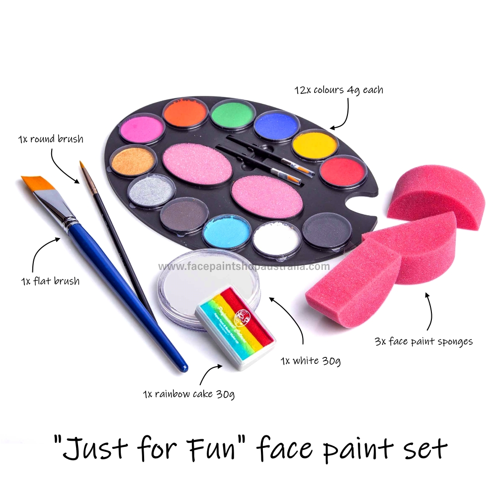 face paint set for kids