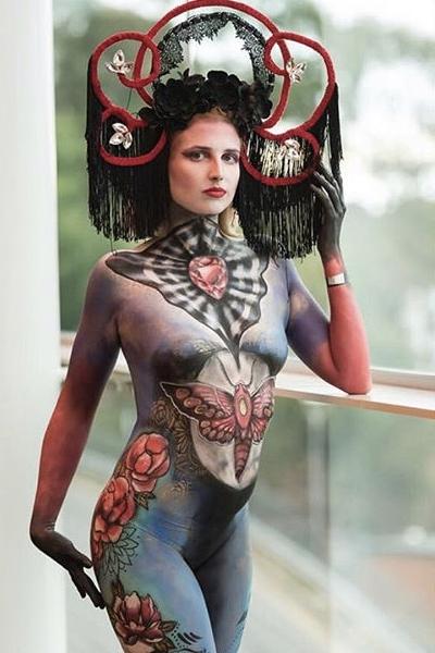 Body Paint by LennieDin aka Lorna Nickels