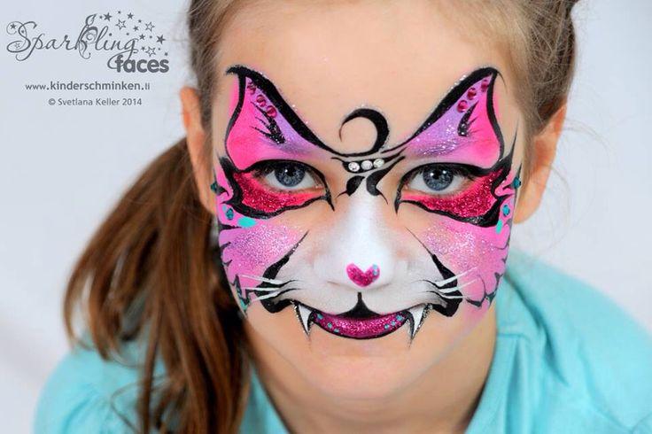 5 Of The Coolest Cat Face Painting Designs Face Paint Shop Australia